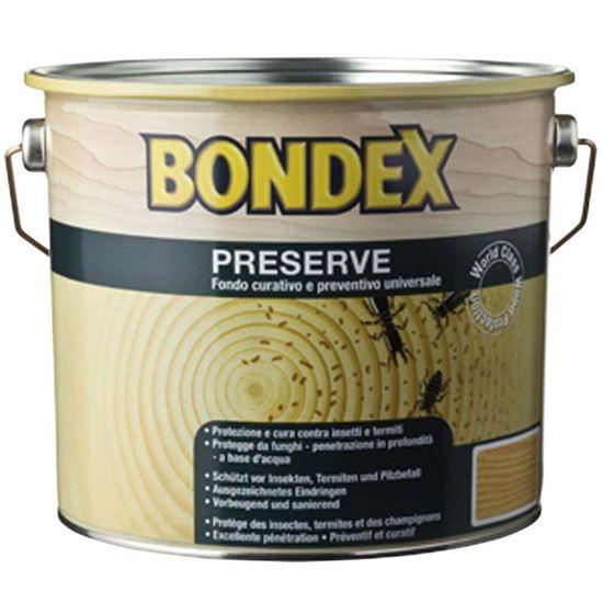Immagine di Antitarlo Jota, Preserve Bondex, trattamento preventivo e di riparazione, con agenti insetticidi e anti-termiti, 0,75 lt