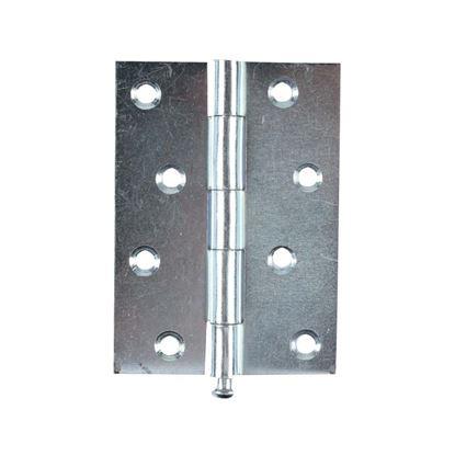 Immagine di 2 Cerniere spina estraibile, zincata, 2 pezzi, 100x70 mm