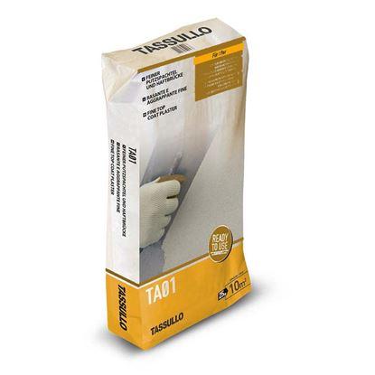 Immagine di Rasante Tassullo, aggrappante in calce grana fine, confezione 25 kg, colore grigio