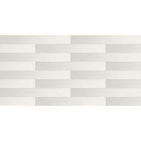 Immagine di Pavimento vinilico autoadesivo Futur, 91,4x15,2 cm Whitetexch conf 2.2 m², posa senza colla, spessore 2 mm