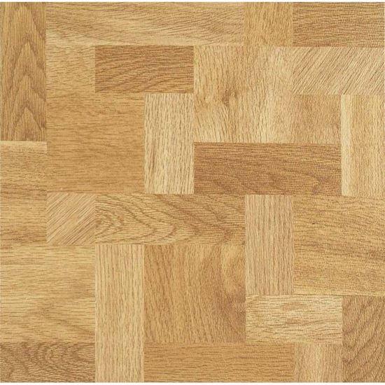 Immagine di Pavimento vinilico autoadesivo Prime, spessore 1,5 mm, 11 pezzi da 30,5x30,5 cm, colore Wood Clear