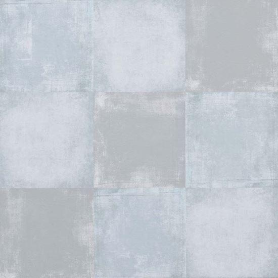 Immagine di Pavimento Desing, piastrelle adesive viniliche, spessore 1,5 mm, 11 pezzi da 30,5x30,5 cm, colore Square Clear