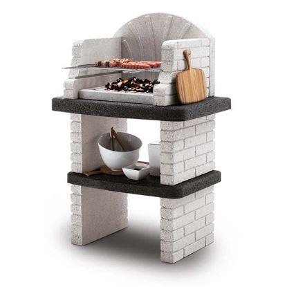 Immagine di Barbecue Palazzetti, Comore legna/carbonella 84x58xh124 cm