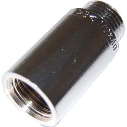 """Immagine di Prolunga ottone cromato, MF 1/2""""x40 mm"""