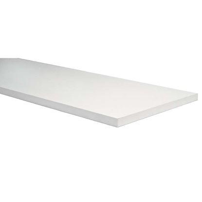 Immagine di Mensola stondata, colore bianco, 18x200x1000 mm