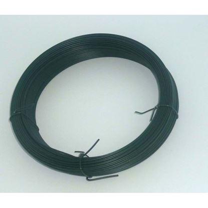 Immagine di Filo multiuso, con zincatura a caldo, PVC, mm 2,7x100 mt