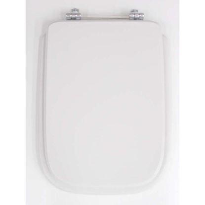 Immagine di Sedile WC Conca, MDF, colore bianco