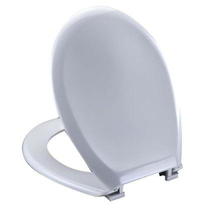 Immagine di Sedile WC Relax, universale, termoplastico, colore bianco