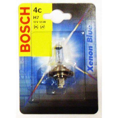 Immagine di Lampadina Bosch, Xenon Blue, per auto, 12 V-55 W, H7