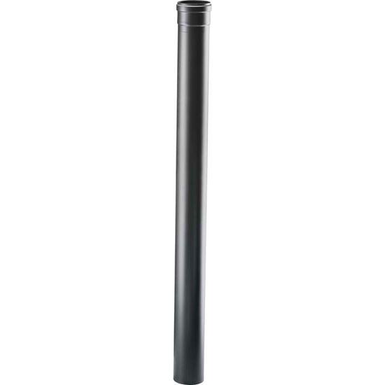 Immagine di Tubo per stufa a pellet, Ø 80 mm, colore nero, 100 cm