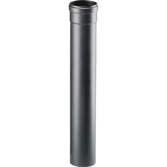 Immagine di Tubo per stufa a pellet, Ø 80 mm, colore nero, 50 cm