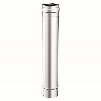 Immagine di Tubo acciaio inox AISI 316L, monoparete, Ø 200 mm, 50 cm