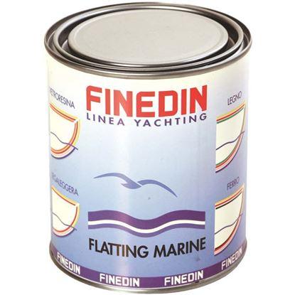 Immagine di Vernice brillante Finedin, Flatting Yacht, finitura trasparente, poliuretanica, monocomponente, 0,75 lt