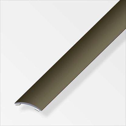 Immagine di Profilo di raccordo autoadesivo, 30x5 mm, alluminio bronzo, 1,0 mt