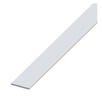 Immagine di Barra piatta alluminio argento, 25x2 mm, 1,0 mt
