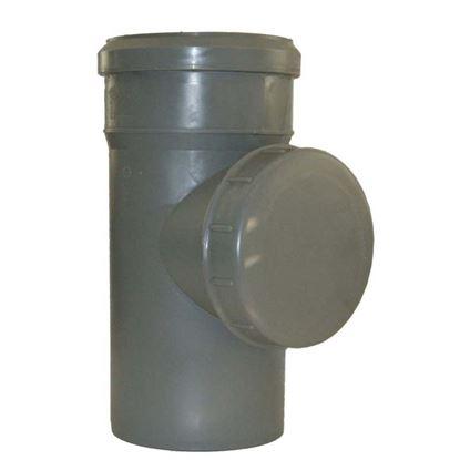 Immagine di Raccordo ispezione HTRE, in polipropilene, con tappo, Ø 110 mm