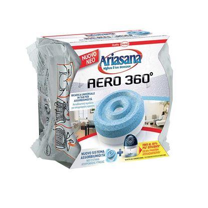 Immagine di Ricarica Henkel, Ariasana aero 360°, 450 gr, inodore