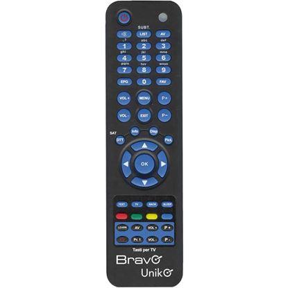 Immagine di Telecomando universale, per televisore e ddt, programmazione automatica, colore nero