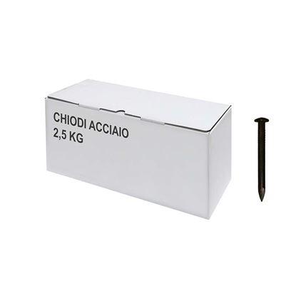 Immagine di Chiodi acciaio, 3,7x50 mm, 2,5 kg