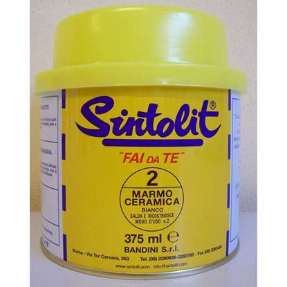 Immagine di Stucco, Sintolit, per metallo, 0,375 lt