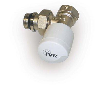 """Immagine di Valvola Saturn, IVR, termostatizzabile, squadro, attacco ferro, 3/8"""""""