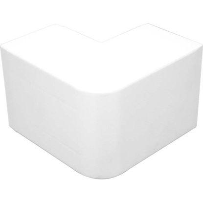 Immagine di Angolo esterno, colore bianco, 60x40 mm