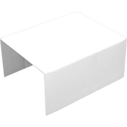 Immagine di Deviazione a T, colore bianco, 100x60 mm