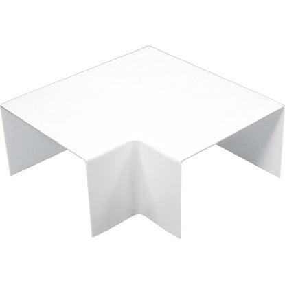 Immagine di Curva piana, colore bianco, 100x60 mm