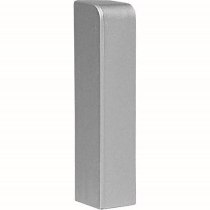 Immagine di Terminale sinistro, colore alluminio, altezza 70 mm