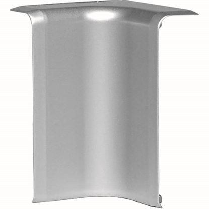 Immagine di Angolo interno, colore alluminio, 70x20 mm