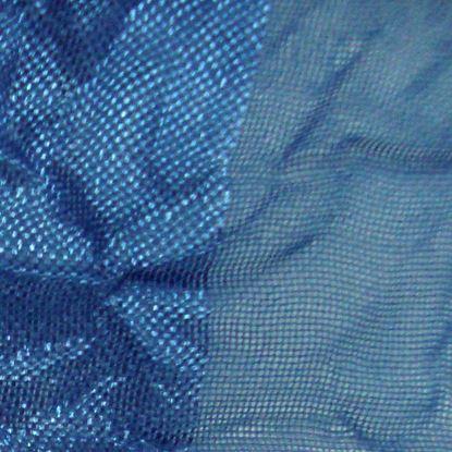 Immagine di Coppia tenda Ambra, in organza, 140xh280 cm, colore blue