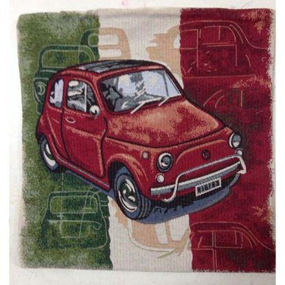 Immagine di Cuscino arredo Gobelin, 100% cotone, 40x40 cm, fantasia cinquecento