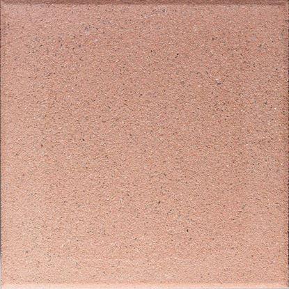 Immagine di Pavimento martellinato con bisello, da esterno,  40x40 cm, colore quarzo rosso