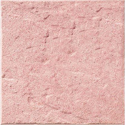 Immagine di Pavimento martellinato rustico, da esterno, 40x40 cm, colore salmone