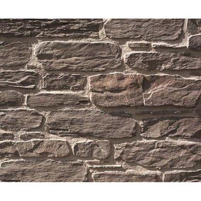 Immagine di Placchetta Ustica, in cemento, formati irregolari, da esterno e interno, confezione da 1 m², colore ruggine
