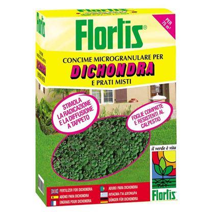 Immagine di Concime Flortis, microgranulare, Dichondra e prati misti, 1,5 kg