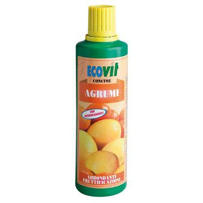 Immagine di Concime Ecovit, liquido, per agrumi, per soddisfare al meglio le esigenze nutritive di tutti gli agrumi, 500 gr
