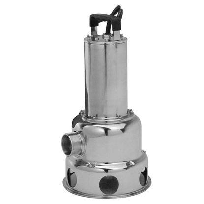 Immagine di Pompa sommersa 1100 W, per acque reflue, portata max 24 m³/h, prevalenza max 11,8 mt