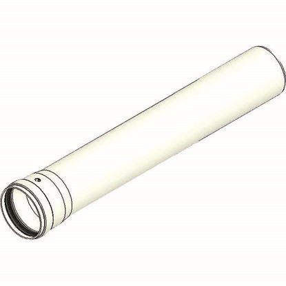 Immagine di Prolunga PP, Ø 80 mm, con guarnizione, 500 mm