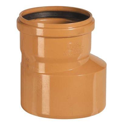 Immagine di Aumento PVC, per fognature e scarichi interrati, SN 4, EN 1401, Ø125-160 mm