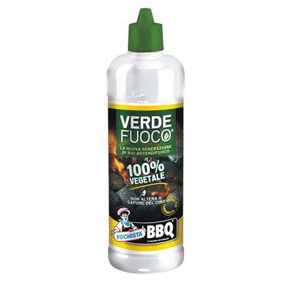 Immagine di Accendifuoco, liquido, 100% vegetale, ideale per carbonella, 750 ml