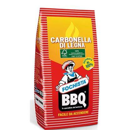Immagine di Carbone, di legna vegetale, grill, 2,5 kg