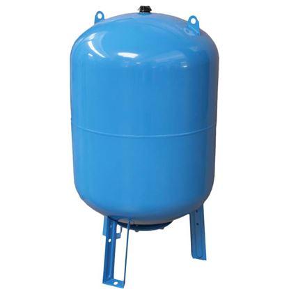 Immagine di Vaso autoclave 50 lt, verticale, membrana intercambiabile in EPDM, pressione max di esercizio 10 bar, precarica 1,5 bar