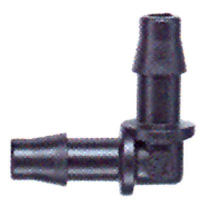 Immagine di Raccordo a gomito Rain, per irrigazione a goccia, Ø 4x4 mm, 10 pezzi
