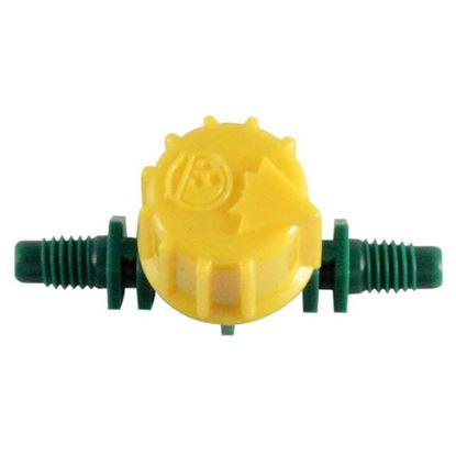 Immagine di Valvola Rain, di regolazione, per irrigazione a goccia, Ø 4 mm, 5 pezzi