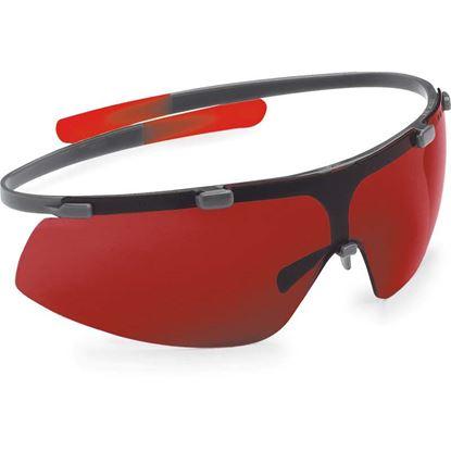 Immagine di Occhiali Leica, per livelle laser, accresce la visibilità del punto laser in interni luminosi ed esterni, fino a 15 mt
