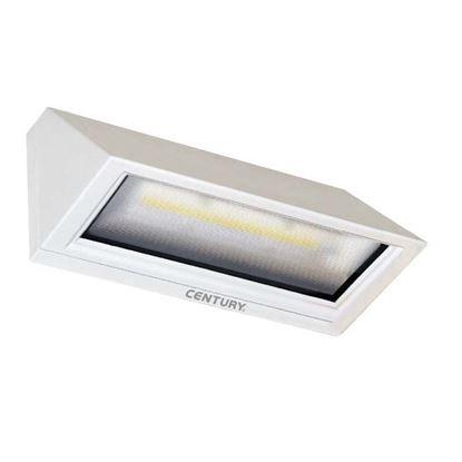 Immagine di Applique Pitagora, a led, 6 W, 3000 K, IP65, 480 lumen, colore bianco