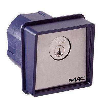 Immagine di Pulsante a chiave, T10, da parete, IP54, 1 microinterruttore in scambio