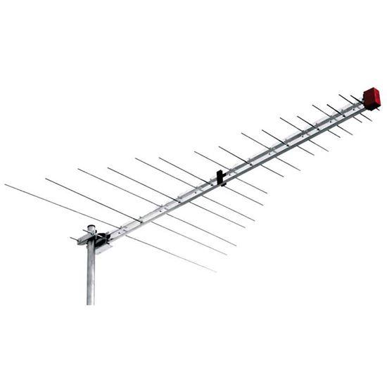 Immagine di Antenna logaritmica 32 elementi, banda III+UHF, digitale terrestre, filtro LTE/4G
