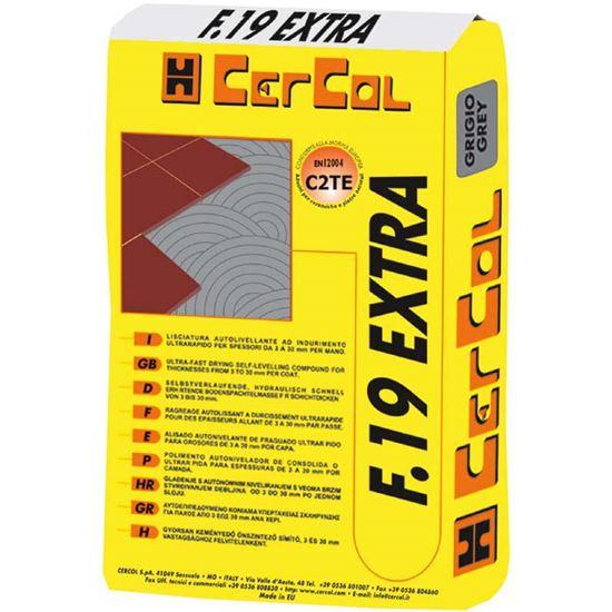 Immagine di Colla per piastrelle F19, scivolamento verticale nullo, 25 kg, colore grigio